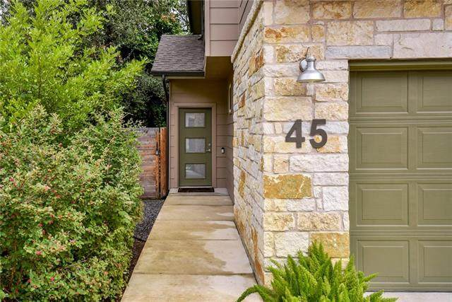 6800 Menchaca Rd #45, Austin, TX 78745 (#7815040) :: The Perry Henderson Group at Berkshire Hathaway Texas Realty