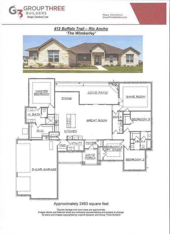 412 Buffalo Trl, Liberty Hill, TX 78642 (#7881991) :: RE/MAX Capital City