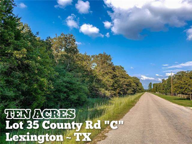 Lot 35 County Rd C, Lexington, TX 78947 (#7896189) :: The Perry Henderson Group at Berkshire Hathaway Texas Realty