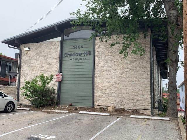 2404 Longview St #104, Austin, TX 78705 (#8230086) :: RE/MAX IDEAL REALTY