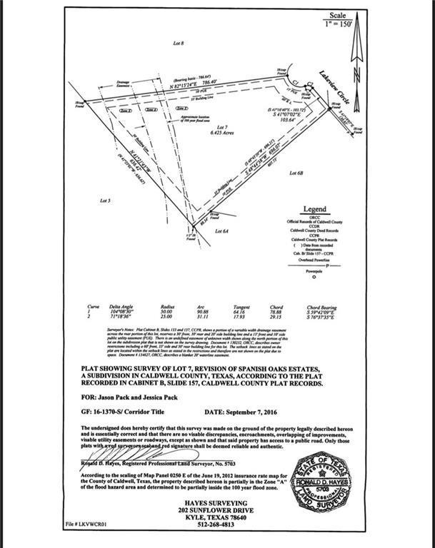 7 Lakeview Cir, Lockhart, TX 78644 (#8711770) :: The ZinaSells Group