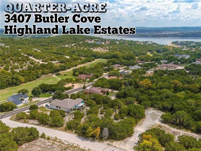 3407 Butler Cv, Lago Vista, TX 78645 (#8723393) :: Papasan Real Estate Team @ Keller Williams Realty