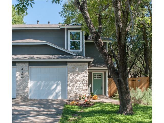 4502 Dorsett Oaks Cir A, Austin, TX 78727 (MLS #8861382) :: Carrington Real Estate Services