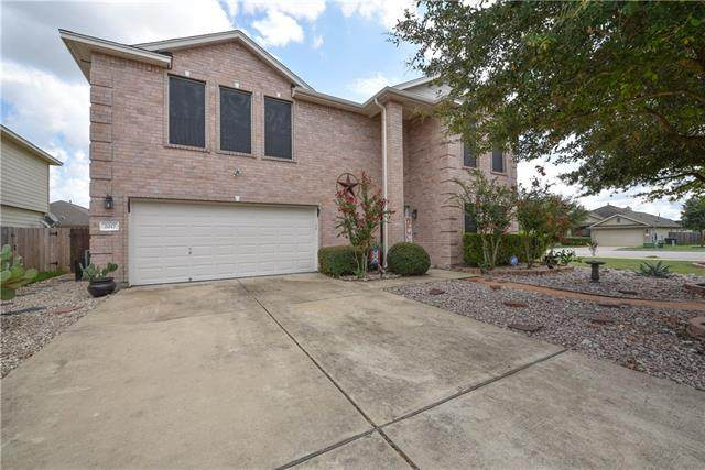 2017 Blewett Dr, Hutto, TX 78634 (#8885453) :: Front Real Estate Co.