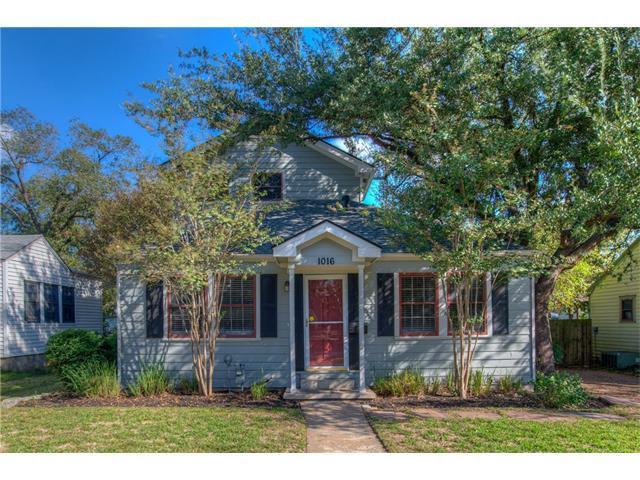 1016 E 43rd St, Austin, TX 78751 (#9014309) :: Papasan Real Estate Team @ Keller Williams Realty