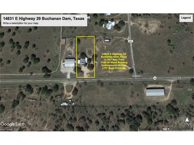 14831 E State Highway 29, Buchanan Dam, TX 78609 (#9220746) :: The ZinaSells Group