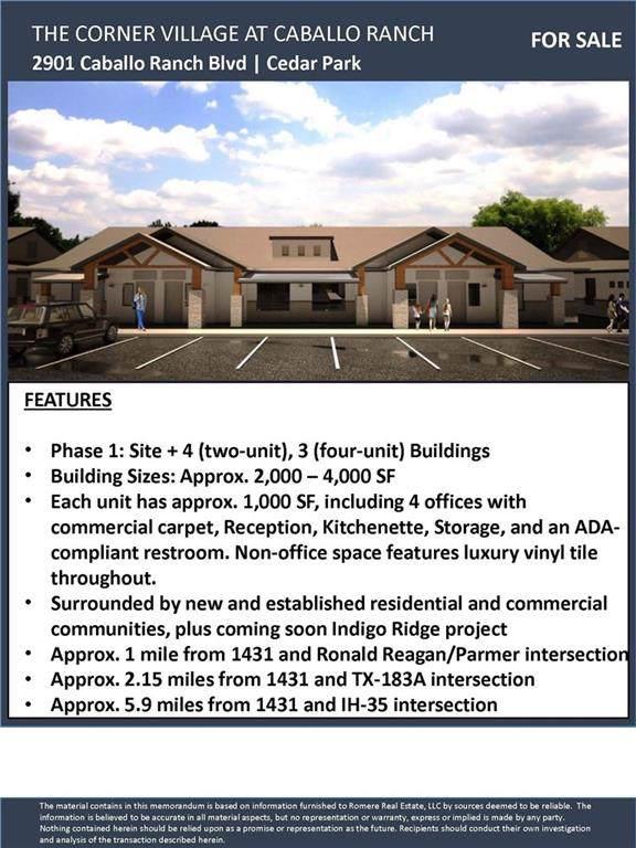2901 Caballo Ranch Blvd 2 B, Cedar Park, TX 78641 (#2539956) :: The Heyl Group at Keller Williams