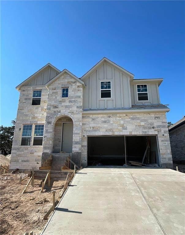 708 Pinnacle View Dr, Georgetown, TX 78628 (#2557587) :: Papasan Real Estate Team @ Keller Williams Realty