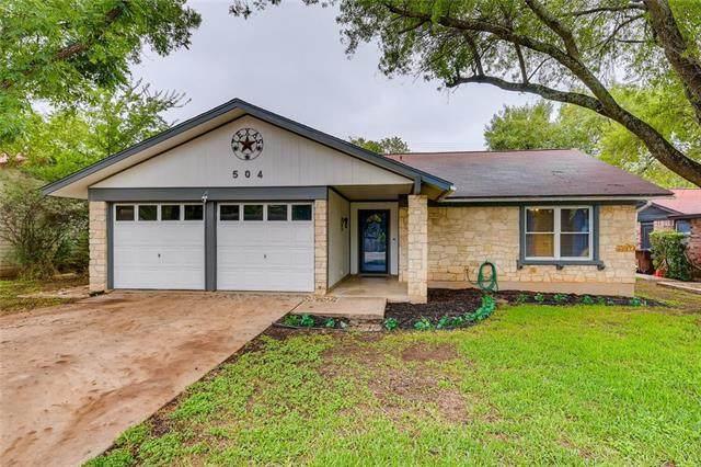 504 Buffalo Pass, Round Rock, TX 78681 (#2808786) :: Front Real Estate Co.