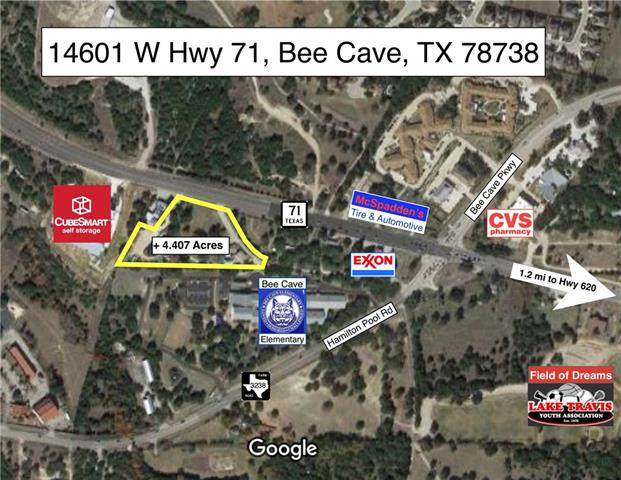 14601 W 71 Highway, Bee Cave, TX 78738 (#3154600) :: Azuri Group | All City Real Estate