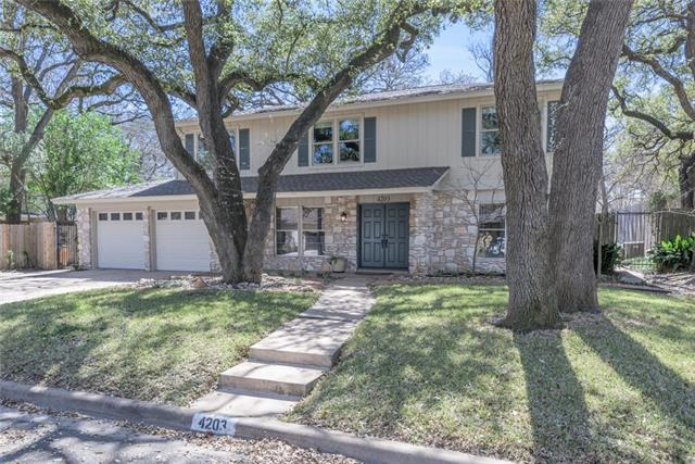 4203 Gnarl Dr, Austin, TX 78731 (#3302584) :: The ZinaSells Group