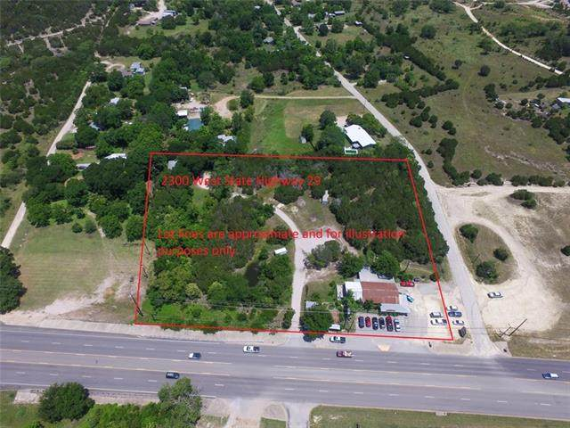 2300 W Sh 29, Burnet, TX 78611 (#3863940) :: The Perry Henderson Group at Berkshire Hathaway Texas Realty