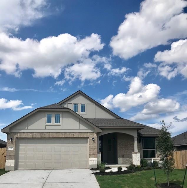 112 West Highfield St, Hutto, TX 78634 (#4618010) :: Papasan Real Estate Team @ Keller Williams Realty