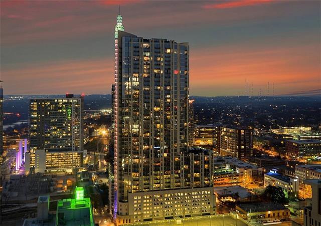 360 Nueces St #1209, Austin, TX 78701 (#5070982) :: Allison Gaddy