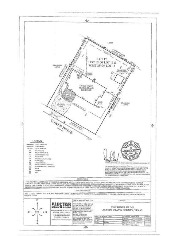 2206 Tower Dr, Austin, TX 78703 (#5083203) :: Lancashire Group at Keller Williams Realty