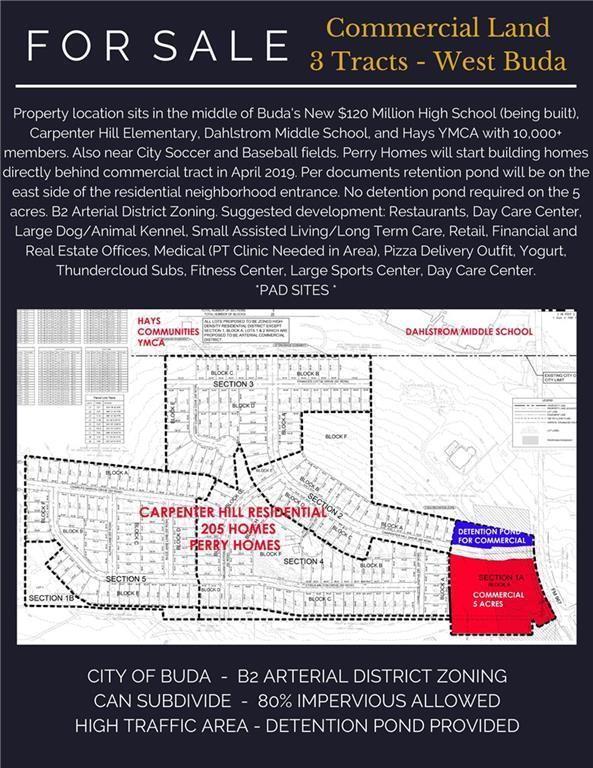 3870 Fm 967 Lot 3A, Buda, TX 78610 (#5368875) :: The Heyl Group at Keller Williams