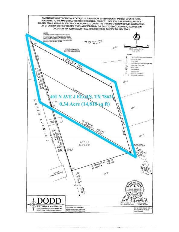 401 N Avenue J, Elgin, TX 78621 (#9030554) :: Papasan Real Estate Team @ Keller Williams Realty