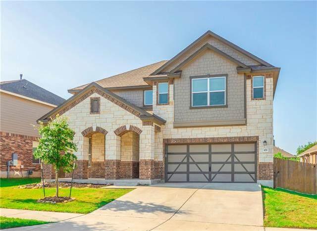 436 Sheepshank Dr, Georgetown, TX 78633 (#9631384) :: Lauren McCoy with David Brodsky Properties