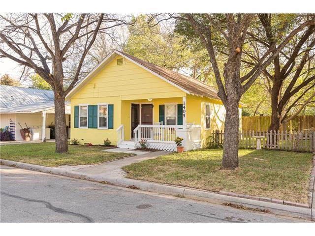 1405 S Myrtle St, Georgetown, TX 78626 (#6166430) :: Forte Properties