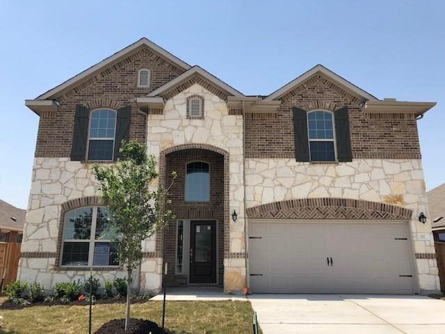 217 Allegrini St, Leander, TX 78641 (#4514559) :: The ZinaSells Group