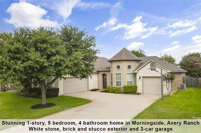 15412 Belfin Dr, Austin, TX 78717 (#5431932) :: The Perry Henderson Group at Berkshire Hathaway Texas Realty
