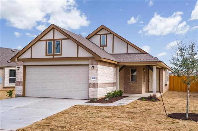 113 Lasino Dr, Georgetown, TX 78626 (#9592651) :: The ZinaSells Group