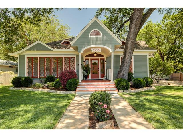 205 W 17th St, Georgetown, TX 78626 (#1298957) :: The ZinaSells Group