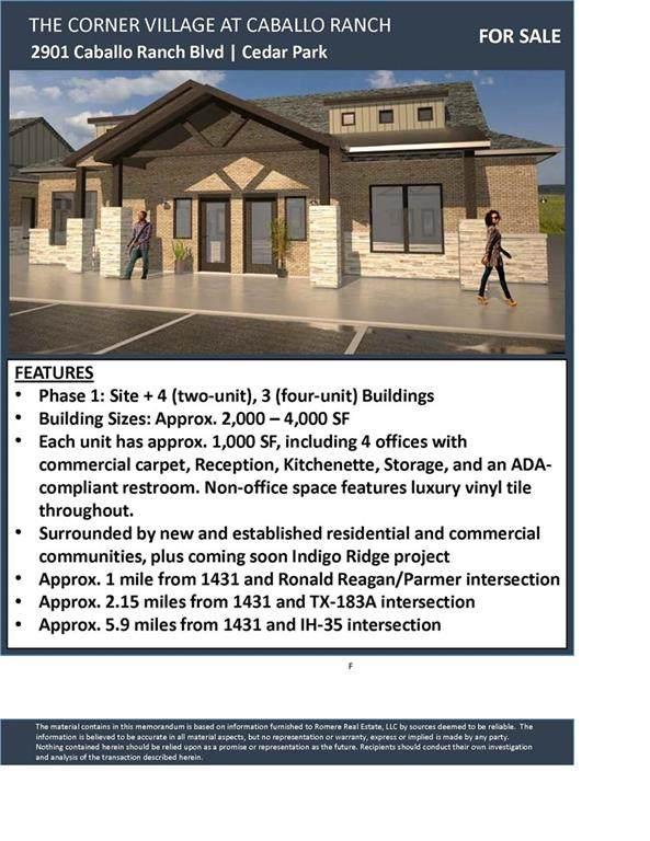 2901 Caballo Ranch Blvd 1 B, Cedar Park, TX 78641 (#2969719) :: The Heyl Group at Keller Williams