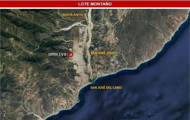 Lot 1 Montano, San Jose del Cabo, BS  (MLS #18-1518) :: Los Cabos Agent