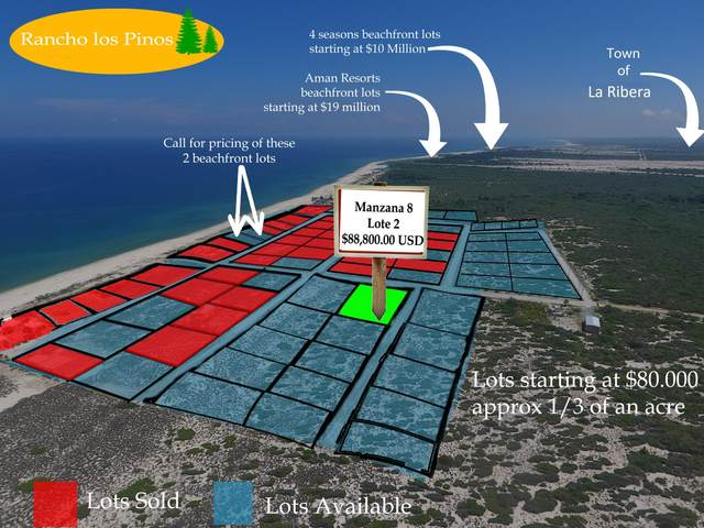 Mzn8 lot2 Calle Sin Nombre, East Cape, BS  (MLS #18-2185) :: Own In Cabo Real Estate