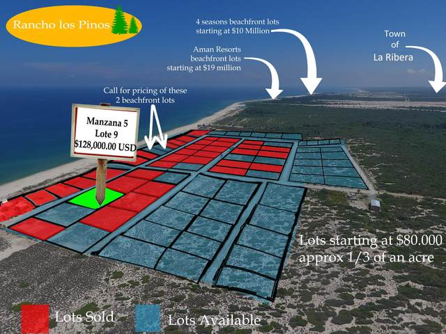 Msn5 lot9 Calle Sin Nombre, East Cape, BS  (MLS #18-2186) :: Own In Cabo Real Estate