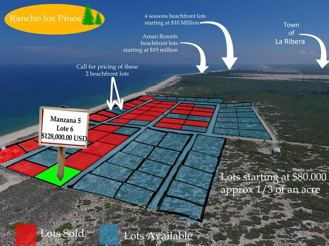 Mzn5 lot7 Calle Sin Nombre, East Cape, BS  (MLS #18-2188) :: Own In Cabo Real Estate