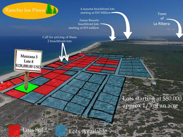 Mzn5 lot8 Calle Sin Nombre, East Cape, BS  (MLS #18-2189) :: Own In Cabo Real Estate