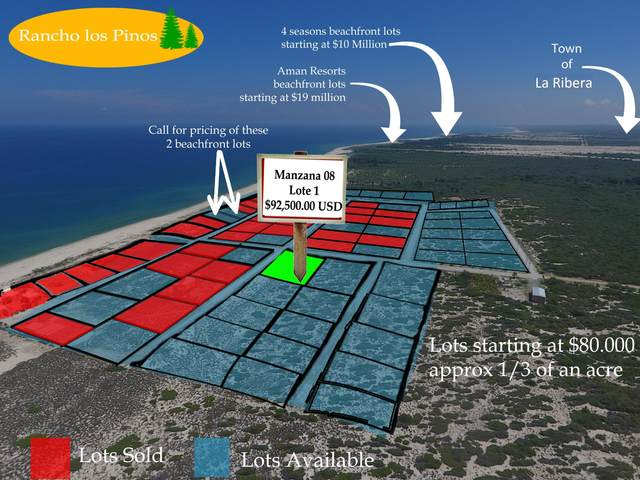 Mzn8 lot1 Calle Sin Nombre, East Cape, BS  (MLS #18-2191) :: Own In Cabo Real Estate