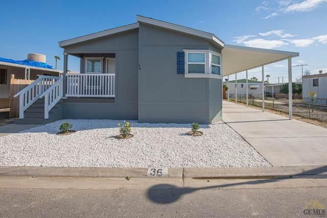 0 4401 Hughes Lane #36, Bakersfield, CA 93304 (#202001669) :: HomeStead Real Estate
