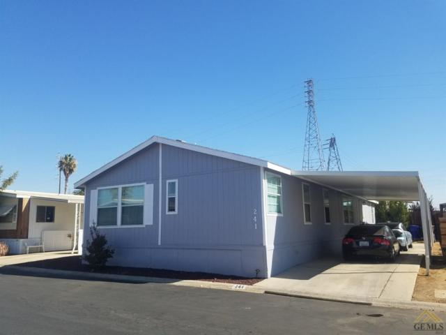 6601 Eucalyptus Drive #241, Bakersfield, CA 93306 (#21907438) :: Infinity Real Estate Services