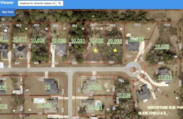 lot 20 Heathrow Drive, Silverhill, AL 36576 (MLS #261420) :: Ashurst & Niemeyer Real Estate