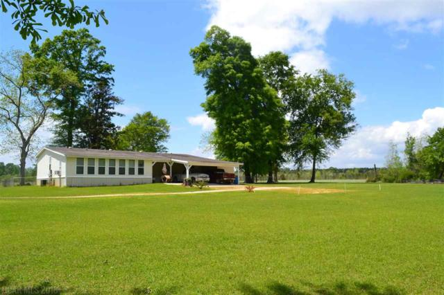 16791 Highway 29, Brewton, AL 36426 (MLS #268591) :: The Kim and Brian Team at RE/MAX Paradise