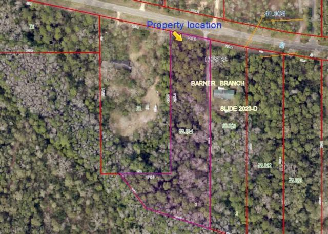 0 County Road 28, Summerdale, AL 36580 (MLS #271295) :: Elite Real Estate Solutions