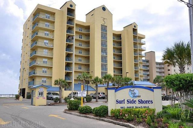 969 W Beach Blvd #1402, Gulf Shores, AL 36542 (MLS #272020) :: Gulf Coast Experts Real Estate Team