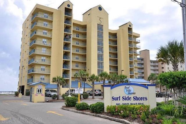 969 W Beach Blvd #1504, Gulf Shores, AL 36542 (MLS #274865) :: Elite Real Estate Solutions