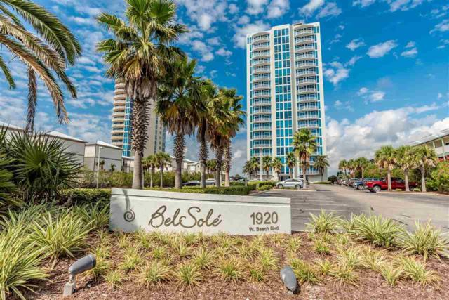 1920 W Beach Blvd #801, Gulf Shores, AL 36542 (MLS #275603) :: ResortQuest Real Estate