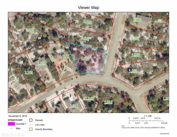 0 W Ono North Loop West, Orange Beach, AL 36561 (MLS #276493) :: Gulf Coast Experts Real Estate Team