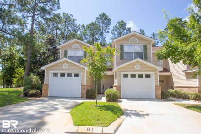 1517 Regency Road #81, Gulf Shores, AL 36542 (MLS #278186) :: Coldwell Banker Coastal Realty