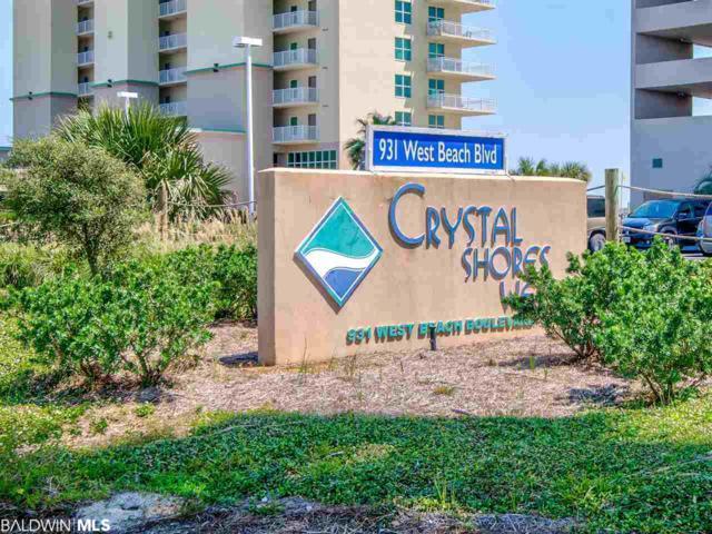 931 W Beach Blvd #1105, Gulf Shores, AL 36542 (MLS #280325) :: Gulf Coast Experts Real Estate Team
