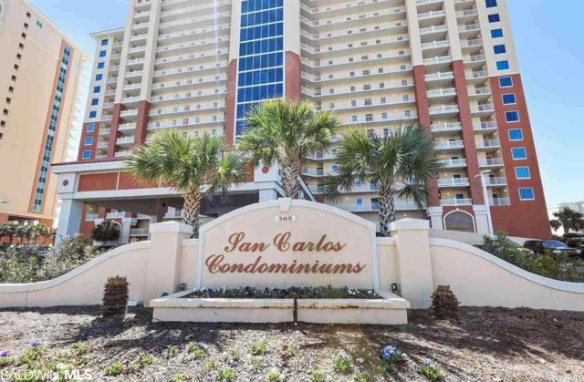 365 E Beach Blvd #706, Gulf Shores, AL 36542 (MLS #280509) :: Elite Real Estate Solutions