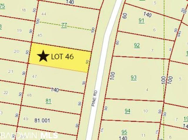 0 Pine Road, Orange Beach, AL 36561 (MLS #280799) :: Gulf Coast Experts Real Estate Team
