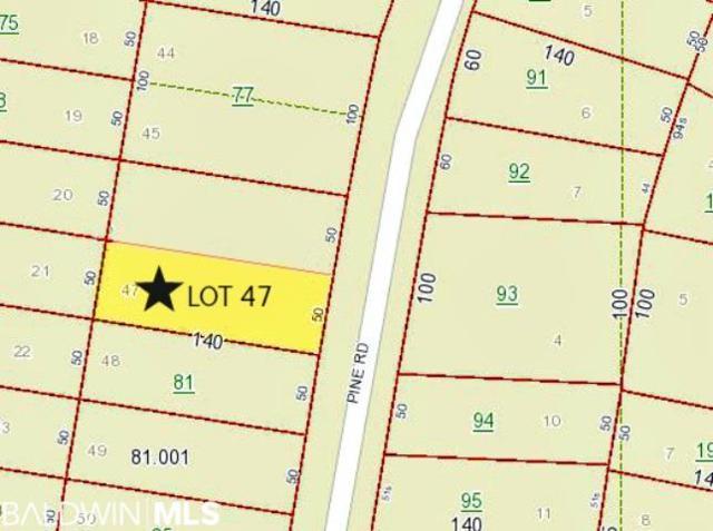 0 Pine Road, Orange Beach, AL 36561 (MLS #280800) :: Gulf Coast Experts Real Estate Team