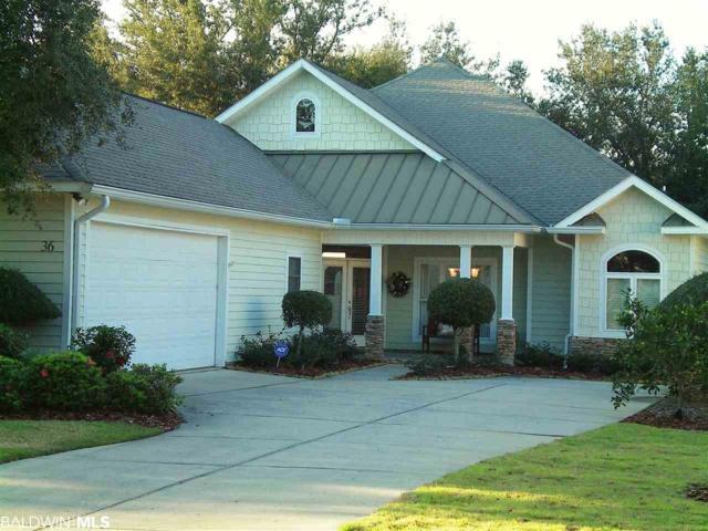 36 Baywalk Drive, Gulf Shores, AL 36542 (MLS #281136) :: Coldwell Banker Coastal Realty