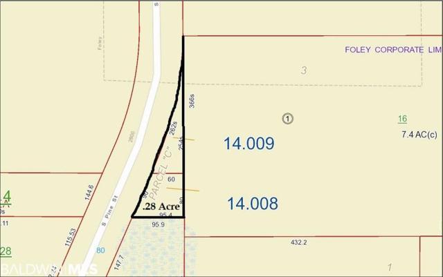 0 Pine Street, Foley, AL 36535 (MLS #282362) :: Jason Will Real Estate